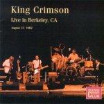 Live in Berkeley, CA, 1982 cover