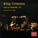 Live in Nashville, TN, 2001 cover