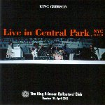 Live in Central Park, NYC, 1974 cover