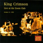 Live at the Zoom Club, 1972 cover